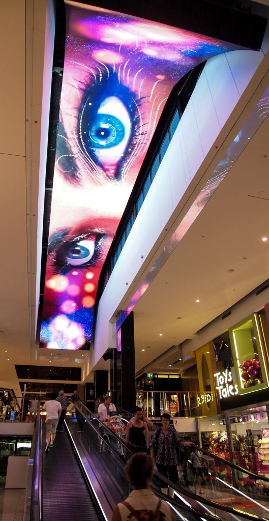 AMP Macquarie Centre - Curved Ceiling LED - 22m x 3m Panasonic 6mm
