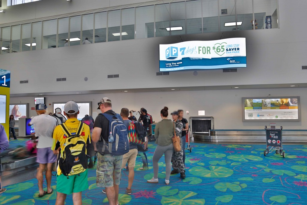 Darwin Airport welcome 'WAVE' NanoLumens custom build in 6mm LED