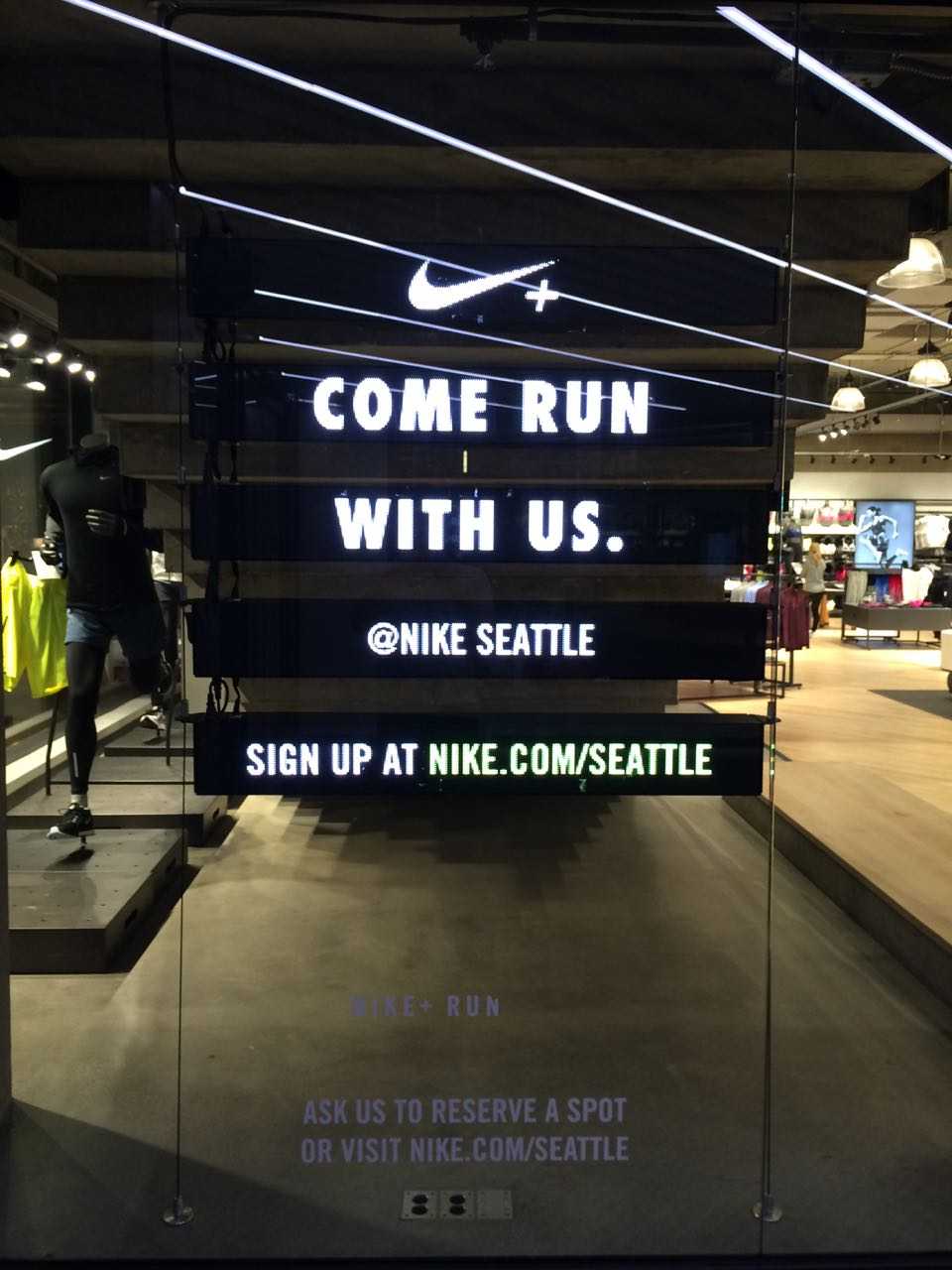 NIKE IN Store Digital
